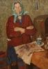 Босенко_В.А.1925-1985гг_Мать_солдата_1974г.__х.м._109х90_ТКГ-31_Ж-31