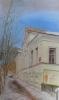 Позднякова Т.М.1951г.р. Дом купца И.Нерпина, 2019г, бумага, гуашь, 42х29,5