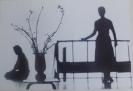 Мальгавко С.В.1959г.р. Весенний сюжет,1983 г. фотобумага, фотопечать 20,5х30