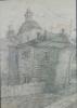 Кальницкий Н.Д.(1963-2010гг) Без названия, до 2010г.бум.карандаш 41,5х30