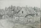 Кальницкий Н.Д.(1963-2010гг) Без названия, до 2010г.бум. карандаш 36х26