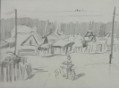 Кальницкий Н.Д.(1963-2010гг) Без названия до 2010г. бум. карандаш 21х27