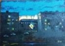 Глебов В.В.1969г.р. Вид из окна,2018г холст, масло 44х60