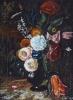 Глебов_В.В.1969г.р._Натюрморт_итальянские_цветы_2009Г._бум.пастель_40х59_ТКГ-295_Г-98