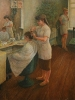 Бабушкин_Н.Ф._1938г._В_парикмахерской_1990г._х.м._90х70_ТКГ-128_Ж-93