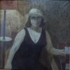 Соловьев_Г.С._1941-2007гг_Портрет_жены_1978г._х.м._80х80_ТХМ_-_465_Ж-296
