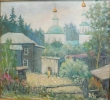Соловьев Г.С. (1941-2007 гг) Тарский мотив,  2001 г. х.м.