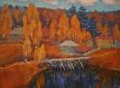 Кальницкий Н.Д. (1963-2010г) Калашников мост, 2003 г холст, масло