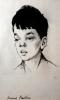 Жуков Н.Н.(1908-1973гг) Портрет Кости Райкина,1960 г. бумага, сангина