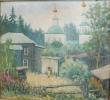 Соловьев Г.С. (1941-2007гг) Тарский мотив,  2001 г. х.м.