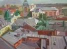 Телятникова Е. А.1985 г.р. Крыши Омска, 2005 г. двп.м.
