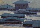 Соловьёв Г.С. Синие тени. 1972. Холст, масло