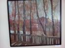 Боброва Е.В. На Оми осень. 2007. Картон, масло