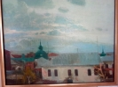 Бондарович Ю. В. Крыши. Ул. Бударина. 2005. Холст., масло