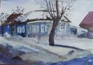 Куприянов А.И.1991г.р. Весна наступила по дороге домой, 2015 г. бумага, акварель.