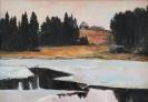 Зольников С.А. 1958г.р. Весна в Мартюшах, 2011 г. холст, масло