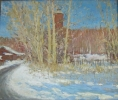 Карякин Ф.Р. 1988 г.р. Апрельское солнце, 2010 г. холст, масло