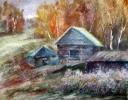 Соловьев Г.С.(1941-2007 гг.) Заимка, 2004 г. бум.акварель