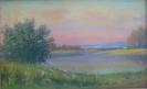 Соловьев Г.С. (1941-2007 гг.) Теплый вечер, 1996  г. х.м.