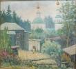 Соловьев Г.С. (1941-2007 г.г) Тарский мотив,  200 г. х.м.
